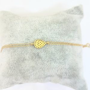 14K Real Solid Gold Teardrop Bracelet with Navy Blue and White CZ for Women mother's day gift birthday gift