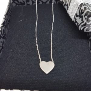 14K Real Solid Gold Heart Design Cute Tiny Dainty Delicate Charm Initial Trendy Pendant Necklace (Choice of Gold Colors and Length) Best Birthday Gift for Women Jewelry Girlfriend Teen Girls