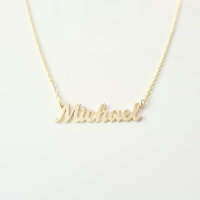 Custom Name Necklace , Modern Name Necklace , Family Necklace , Custom Necklace , Personalized Name Necklace, Name Necklace for Women