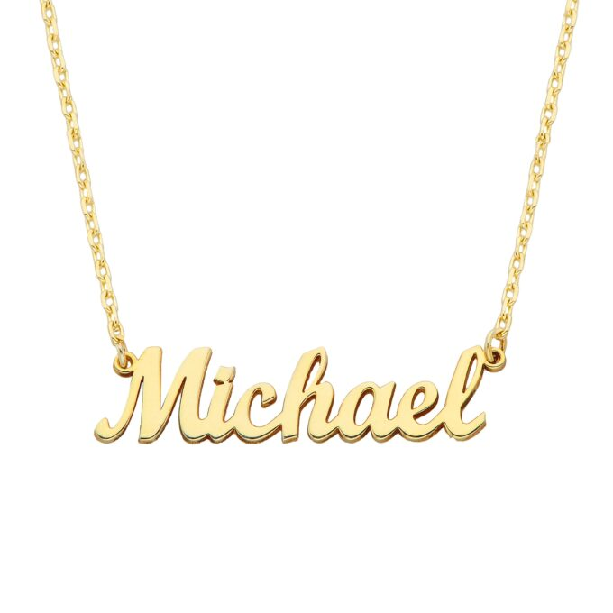 Names Necklace , Custom Name Necklace , Family Necklace , Custom Necklace , Personalized Name Necklace 925K sterling silver 14K gold
