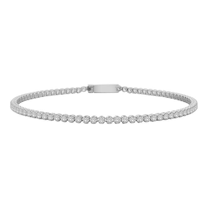 14K Real Solid Gold Tennis Bracelet for Women , CZ Eternity Tennis Bracelet , Tennis Bracelet Cubic Zirconia Multicolor , Gift for Her